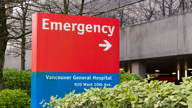 COVID-19 outbreak in unit at Vancouver hospital