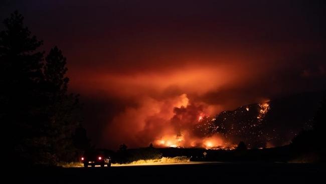 Falkland, B.C., evacuated as wildfire threatens