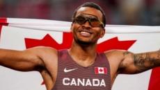 Olympics: Canada's Andre De Grasse wins men's 200m title