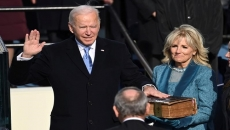 Relief, unease as Trump departs, Biden takes oath