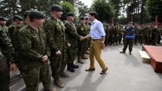 Canada asks U.K. to help fly troops to Latvia