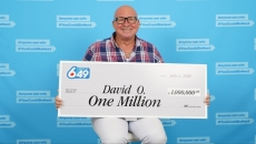 Burnaby resident David O'Brien surely has luck on his side winning the 6/49 lotto twice in a gap of 4 years