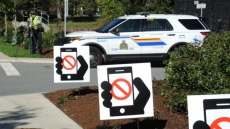 March is Distracted Driving & Occupant Restraint Month for BC Police