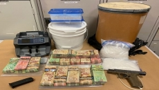 Break and enter at a Surrey residence leads to large drug seizure