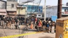 Tension at Tikri border after man burnt to death