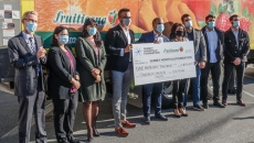 WATCH: Fruiticana's generosity shines in sum of $100,000 raised for Surrey Hospital Foundation's Children's Health Centre