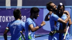 India beat Germany in the Olympics 5-4 to win bronze, a medal after 41 years