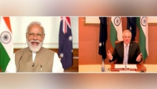 India, Australia sign historic agreement to help each others military bases