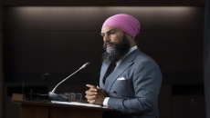 Singh blasts Trudeau, O'Toole as business allies