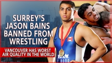 WATCH:  Indo Canadian Wrestler from Surrey Suspended