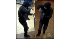 Armed robbery at pizza place