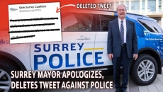 Surrey Mayor Doug McCallum Deletes Tweet, Apologizes to RCMP