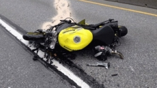 Motorcyclist Airlifted To Hospital In Critical Condition After Collision In South Surrey