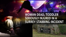 WATCH: Domestic Fight In Surrey leaves Toddler Stabbed & Woman Dead