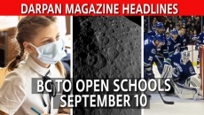 WATCH:  Schools in BC open September 10th,  NASA discovers dwarf planet, and Canucks vs Blues