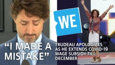I made a mistake, PM Trudeau apologies and extends wage subsidy til December