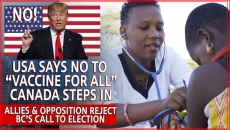 WATCH: Trump Says No To Being Part Of  International Vaccine Initiative-Canada joins in