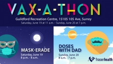Fraser Health's 32-hour Vax-a-thon this weekend is a red carpet event with music and entertainment-get your shot