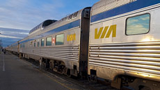 Via Rail Lays Off 1,000 Employees Temporarily As Blockades Drag On