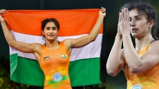 Vinesh Phogat Wins Bronze At World C'ships, Secures Olympic Spot