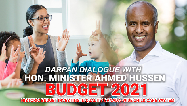 WATCH: Federal Minister Ahmed Hussen speaks on opportunities for children and families in the recent Liberal budget