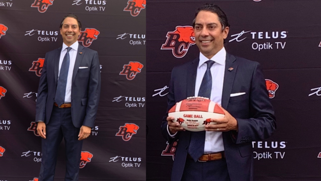 Amar Doman of South Asian Descent is the new owner of the BC Lions