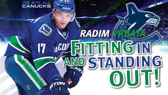 Radim Vrbata: Fitting In & Standing Out!