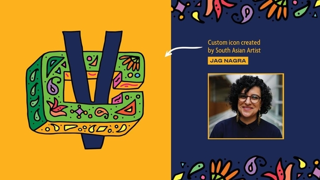 WATCH: Meet Jag Nagra, the artist behind the Canucks Vaisakhi logo