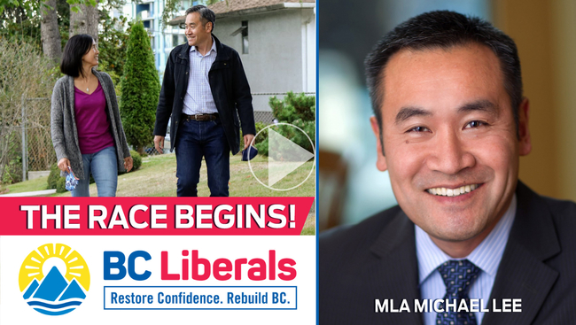 WATCH: BC Liberal MLA for Vancouver-Langara has thrown his name in the hat for the Liberal leadership contest
