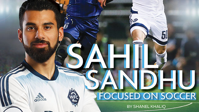 Sahil Sandhu: Focused on soccer