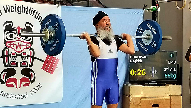 Raghbir Singh Dhaliwal: For the Love of Weightlifting