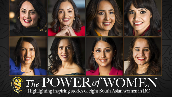 The Power of Women: Inspiring stories of eight South Asian women in BC