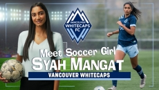 WATCH: Soccer Girl Syah Mangat is all goals as she is the only South Asian female playing for the Vancouver WhiteCaps