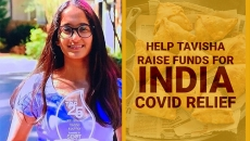 WATCH: Tavisha Kochhar young teen humanitarian is doing her part to fundraise for the COVID19 crisis in India