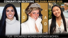 The Princess Diana Award 2020 - Chat with Ravina Anand Co-Founder of 'FLIK'