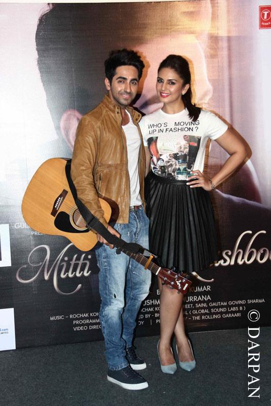 Ayushmann's Mitti Di Khushboo Album Launch