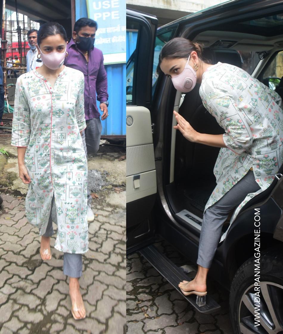Aalia Bhatt in summery outfit