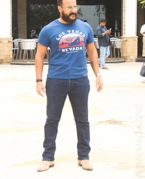 Saif Ali Khan relaxed with his denim and glasses look