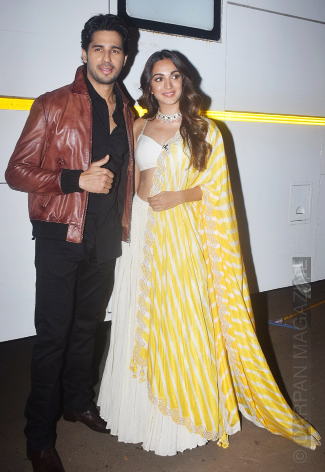 Kiara Advani and Siddharth Malhotra looking great