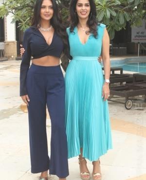 Mallika Sherawat & Eesha Gupta at Sun N Sand Hotel