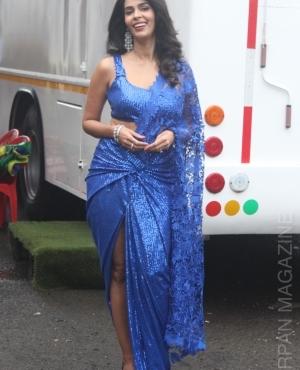 Actress Mallika Sherawat is a dream in blue