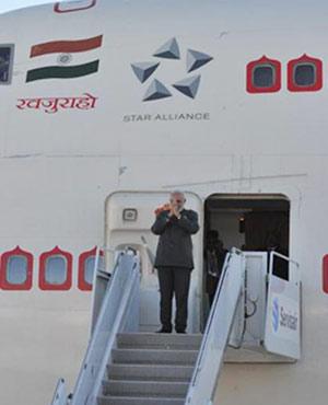 PM Modi is in Canada.