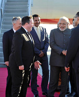 First Indian PM on a stand alone bilateral visit in 42 years.