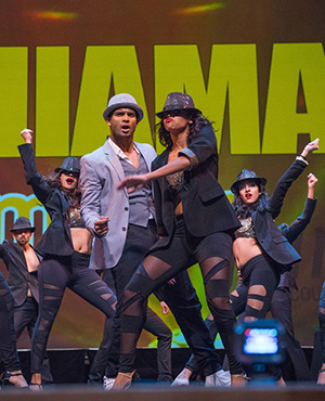 Hats off to a stylish performance by The SHIAMAK Dance Team  with the star performer Rahul Manoharan.