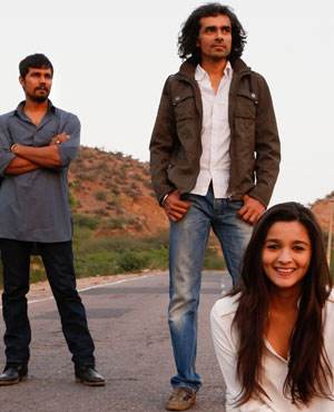 Alia Bhatt, Randeep Hooda and Imtiaz Ali