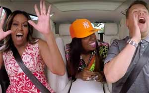 Michelle Obama Rocks Out To Beyonce In Most Epic Carpool Karaoke Ever