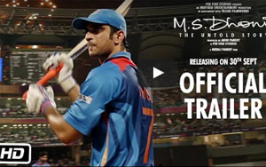 MS Dhoni: The Untold Story Trailer