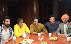 The Actors Roundtable With Big B, Ranbir, Sushant, Shahid and Diljit Dosanjh