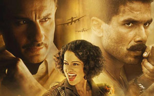 Rangoon Trailer: Shahid, Kangana And Saif's War-Torn Love Triangle