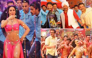 Sunny, Bobby, Shreyas Shake A Leg On 'Kudiya Shehar Di' With Elli Avrram!